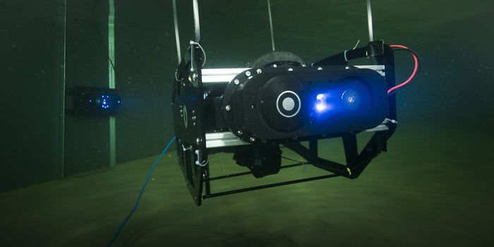 Underwater robot (Photo: Morten Beier)